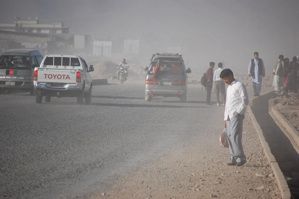 زیانهای جلدی آلودگی هوا
